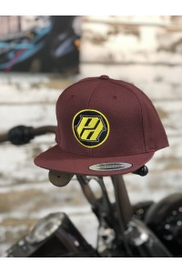 Maroon Polen Designs Hat